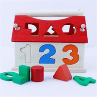 Wholesale 2014 New Educational DIY Toys for Children Digital Building House Blocks