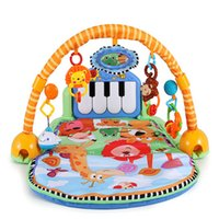 animal pedals plastic - 94 cm Baby play mats contain mirror music pedal animals carpet and hangings early education toy supply