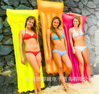 Wholesale Inflatable Floating Bed Men And Women Loungers Swimming Floating Bed Recliner Beach Mattress Inflatable Floats