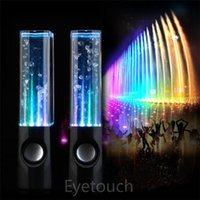 Universal water dance - Dancing Water Speaker Active Portable Mini USB LED Light Speaker For iphone ipad PC MP3 MP4 PSP