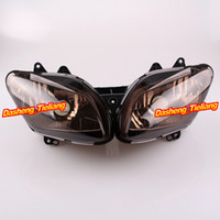 aftermarket headlights - Motorcycle Front Headlight Lighting for Yamaha YZF R1 Aftermarket Parts Replacements Brown order lt no track