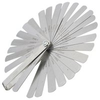 Wholesale sets _ Blades Metric Inch Thickness Gage Set Tappet Valve Feeler Gauge