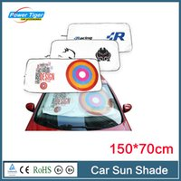 Wholesale New Arrival cm Car Sunshade Auto Exterior Window Sun Shade Car Windshield Visor Cover Block Front Window Sunshade