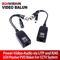 Wholesale 1CH Passive Balun video balun transceiver Supply Power for Camera