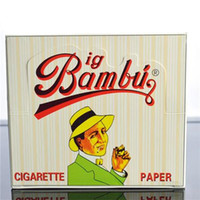 big paper box - BIG BAMBU Rolling Paper Cigarette Papers for Smoking Booklets a Box size mmx66mm Papper Natural Unrefined Smoking Rolling Paper
