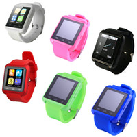 available - Smart watches for android phones with bluetooth u8 smartwatches camera pedometer six color available on stock