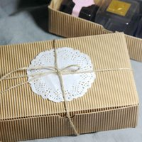 Wholesale Roasted wild corrugated packaging kraft color Capsules g moon cake box cake box West Point box biscuit box