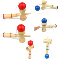 educational games for children - 2015 Game cm Kendama Ball Sword Ball Skills Japanese Traditional Wooden Balls Kendamas Cup Adult Fun Educational Toys Gifts for Children