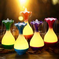 Wholesale LED night light fragrance USB mini air humidifier More color