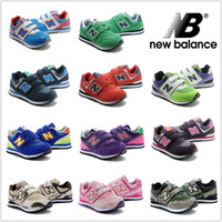 Wholesale New Balance Children s Shoes Boys Girls Running Shoes NB Sneakers Cute Kids Cheap New Arrival Boots Sport Shoes