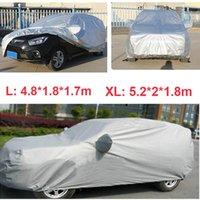Wholesale Universal Car Covers Anti UV Dustproof Car Clothes Vehicle Scratch Proof SUV Surface Protector Full Car Styling L XL K1722