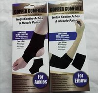 ankle support sock - Copper Fiber Comfort Ankle Support Protector Band Elastic Brace Ankle Protector Sports Safety Sock Stretched Ankle Support