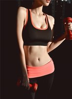 Wholesale multicolor womens gym clothes quick dry shakeproof ladies running fitness vest wireless running bra yoga sport bra sexy gym wear