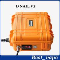 Box Wax Vaporisateur Mod Dnail Kit Dry Herbal PID électronique numérique DNail Dab Titanium DNail Domeless Dnail Temp contrôle Ecig boîte DHL mod gratuit