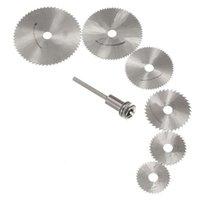 Wholesale For Dremel Cutoff Circular Saw HSS Rotary Blades Tool Cutting Discs Mandrel hss saw blades rotary blade steel saw blade