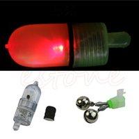 Wholesale LED Light Fishing Electronic Bite Alarm Fish Sensor Bells Rod Tip Shake Alarms