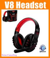 Cheap V8 Headset Best wireless headset