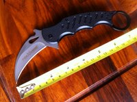 Wholesale hot sale high quality fox knives folding blade knife fixed blade hunting knife claw karambit knives white blade