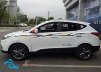 Wholesale Xiao Nissan passenger car stickers IX35 QASHQAI beltline garland whole car modified car stickers affixed to the X Trail
