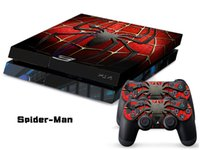 Cheap for ps4 sticker Best Spider-Man Vinyl Skin for Gaming Console