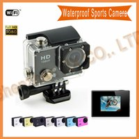 Wholesale Original gopro style digital camera G1 WIFI profissional underwater Waterproof camera P go pro Wide Angle Sport Camera