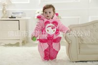 clothing manufacturers - Manufacturers selling baby s clothing jumpsuits new winter quilted animal model happy wiz rabbit41