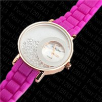 cheap gifts for women - Fashion Luxury Women Wristwatches Watches Diamond Jewelry Jelly Candy Silicone Cheap Wristwatch Watch for Lady Gift zh3118