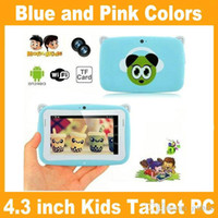 Wholesale Kids Pre school Tablet PC Inch RK2926 Android MB GB GHz Dual Camera WIFI MINI Tablet With Eduactional APP Games PB4