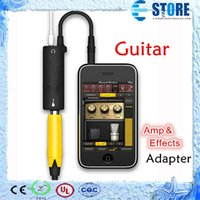 Wholesale Ampli Electric Guitar Effect Connection Line Bass Guitar IK AmpliTube Cable Adapter for iphone ipad ipod A