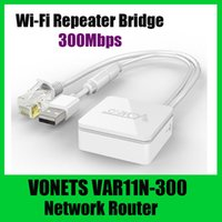 Wholesale VONETS VAR11N Wireless Mbps Mini Network Router Wi Fi Repeater Bridge Adapter Wi Fi g Wi Fi b Wi Fi White