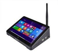 Wholesale Original PIPO X8 Mini PC Z3736F Quad Core Dual OS Boot INCH Tablet Mini PC HDMI G G WIFI TV box Android Windows