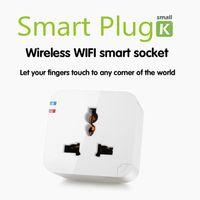 Conmutador Smart Power Plug Kankun K2 WiFi remoto Socket control del teléfono móvil Cargador Adaptador inalámbrico eléctrica mediante el uso de Smartphone Android APP