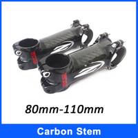 Wholesale 2014 New Bicycle Stem Carbon Fiber Aluminum MTB Road Bike Carbon Stems Z mm mm mm mm IPP Bike Stems