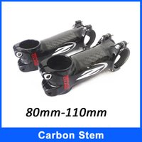 bike parts mtb - 2015 New Bicycle Stem Carbon Fiber Aluminum MTB Road Bike Carbon Stems Z Bike Stems IPP Bicycle Parts mm mm mm mm