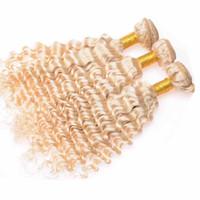 Cheap Bleached Blonde Color Best Virgin Hair Bundles