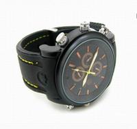 Mini Reloj cámara espía 16G impermeable reloj espía 720 * 480 HD cámara grabadora DVR reloj de la cámara de vídeo
