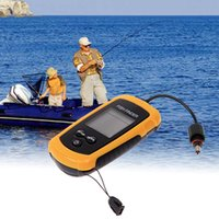 Wholesale 1pcs Portable Sonar LCD Fish depth Finder Alarm M AP fishing iure ice fishing finder echo sounder