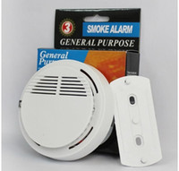 Wholesale Hot selling Wireless Smoke Detector for Fire Alarm Sensor without v Battery Home Security