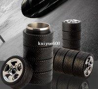 Eco-Friendly stainless steel coffee mug - Creative Stainless steel Thermal insulatio cup Tyre Tire Coffee Tea Mug Business gift