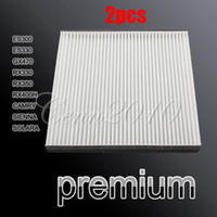 Wholesale 2pcs New Cabin Air Filter FOR TOYOTA CAMRY PRIUS SIENNA SOLARA For LEXUS ES300 GX470 RX350 RX400H small order no tracking