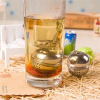 Wholesale Hot Seller Tea Infuser Filter Mesh Ball Strainer CookingTools Stainless Steel Size CM JA85
