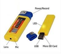 Precio de Cámara espía venta caliente-Cámara ocultada del alumbrador del mini DV espía caliente con la videocámara del video DVR del espía del USB para la venta