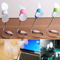Wholesale Ultra quiet Wind Bending Mini USB Snake Shaped Portable and Flexible Fan For Notebook Computer Laptop