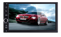 7 pulgadas Android 4.4.4 de coches reproductor de DVD para coche universal Radio del GPS del coche de radio doble DIN estéreo HD 800x480 Pantalla capacitiva