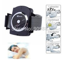 Sleeping Aids - Intelligent Anti Snoring Wrist Snore Gone Stop reduce Sleeping Aids Snore Stopper Appliance To Reduce Snoring