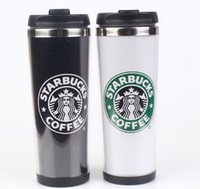 Wholesale OP Starbucks popular hot cup style double wall travel tumbler stainless steel insulated tumble r420ml