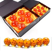 animation factory free - 4CM In Diameter Dragon Ball New In Box DragonBall Stars Z Crystal Balls Set of With Retail Box Animation Free DHL UPS Factory Direct