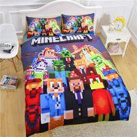 Wholesale New arrive Styles Children D Bedding Sets Cartoon My Bedding Steve Kids Twin Size