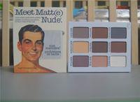 the balm cosmetics - 2015 Brand makeup beauty cosmetics the balm meet matte nude eyeshadow palette sombra make up eye shadows