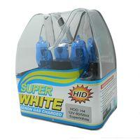 al por mayor faros amarillos-Nuevo 2pcs de xenón HOD Super White / Yellow Car Styling Faro bombilla halógena H4 12V 55W / 100W 6000K